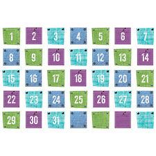 CTP 6898 Upcycle Style Calendar Days Cards Classroom Decorations Teacher Supply