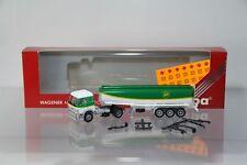 """Herpa Mercedes SK88 Tanksattelzug """"BP"""" Nr. 826121  /H3354-1"""