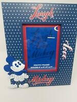 Disney Parks American Legend Mickey Mouse Laugh Love Mickey Photo Frame New
