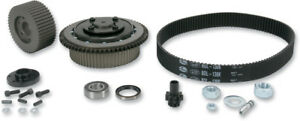 """BDL 1 5/8"""" Enclosed Primary Belt Drive Kit Lock Up Clutch Harley Touring 90-06"""