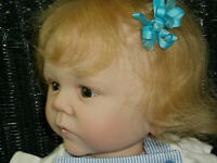 "Reborn Doll Chloe Nell from the Dwayne Sculpt, 23"", 7 Lbs. 6 Oz."