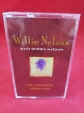 New: WILLIE NELSON - Hill Country Christmas (W/Bobbie Nelson) CASSETTE