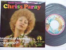 HENRI GUEDON discovered CHRISS PARAY Bananas fo Bahamas cALYPSO VDG 190091  RTL