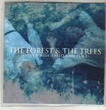 (BT725) The Forest & The Trees, To The Forest (I Need Some Peace) - DJ CD