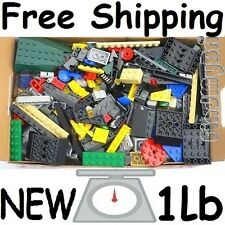"FREE SHIPPING "" Brand NEW "" LEGO Parts 1lb Ramdom 500+ Pieces Bulk Lot Brand NEW"