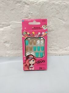 KISS BROADWAY LITTLE DIVA 24 NAILS # BLL08 MOM APPROVED PRESS ON NAILS