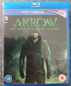Arrow: The Complete Third Season Blu-ray (4 Disc Set)
