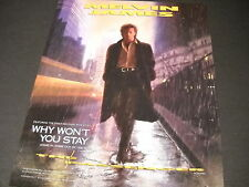MELVIN JAMES walking in the rain from THE PASSENGER 1987 PROMO POSTER AD mint