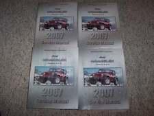 2007 Jeep Wrangler Shop Service Repair Manual X Unlimited Sahara Rubicon 3.8L V6