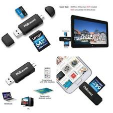 Philonext Memory Card Reader, SD/Micro SD Card Reader and Micro USB OTG On U