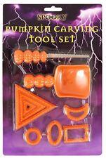 7pc Pumpkin Carving Tool Scoop Shape Cutter Kids Childrens Family Craft DIY Set