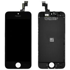 Display Assembly (LCD + Glas) Ersatzdisplay für Apple iPhone 5S SE, black / Schw
