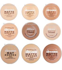 MAYBELLINE DREAM MATTE MOUSSE MAKE UP FOUNDATION 10,30,12,11,20,16,21,4,32,50,5,