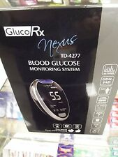 GlucoRx Nexus Blood Monitoring system