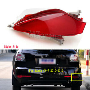 Right Outer For Mazda CX-7 2010 2011 2012 Rear Bumper Lamp Reflectors Red Light