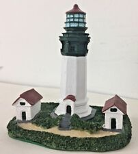 """Greys Harbor Lighthouse 3 1/2"""" Tall Collectible  The Commodore's Collection"""