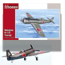 SPECIAL HOBBY 1/72 NAKAJIMA KI-115 TSURUGI KIT 72199 'BATTLE OF TOKYO'