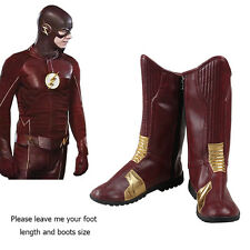 Classic Halloween Boots Shoes Barry Allen Bartholomew Henry Cosplay Custome New