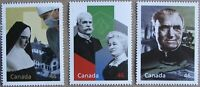 #1823a, c, d:  CANADA MNH 3 stamps from Hardbound Millennium Book