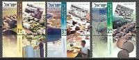 Israel Stamps MNH With Tab Development Towns In Israel Year 2007