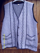 Unbranded Plus Size Button V Neck Waistcoats for Women