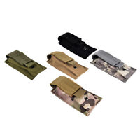 1pc military tactical magazine pouch  flashlight sheath airsoft hunting-bag