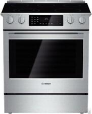 "Bosch 800 30"" 5 Elements 11 Modes Slide-in Smoothtop Electric Range Hei8054U Im"