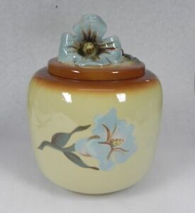 Vintage RARE PADRE Pottery REGAL,  #99 Cookie Jar, Hand painted by Virginia.