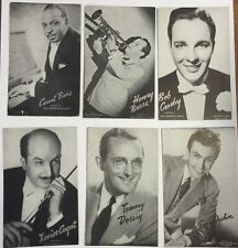 1940's Band Leaders Mutoscope Card Set (32)