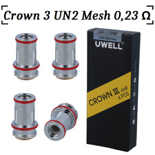 UWell Crown 3 0,23 Ohm UN2 Mesh Heads | Crown III Mesh Coil | Crown 3 Mesh Coils