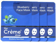 4 Packs Blueberry Face Mask From The Creme Shop In Los Angeles California .81 oz