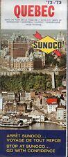 Vintage 1972 Sunoco Travel Brochure - Quebec Canada