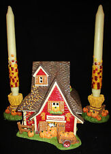 Dept 56 Thanksgiving Lighted House Set #30554, Holidays, Special Days, RARE