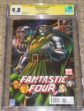 Fantastic Four #583 Arthur Adams Dr. Doom Variant CGC 9.8 SS Only SS in Census