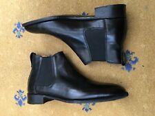 John Lobb Mens Black Leather Chelsea boots Shoes UK 7.5 US 8.5 EU 41.5 Seconds