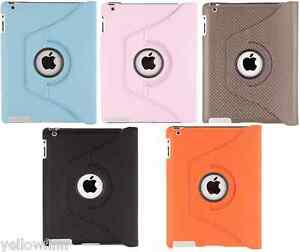 Everything Tablet 360 Degree Rotating Smart Stand Case Cover Apple iPad 2 3 4
