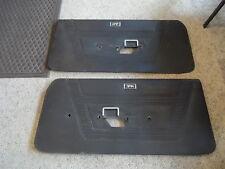 1969 1970 Mercury COUGAR Eliminator / Standard BLACK Door Interior Trim Panels