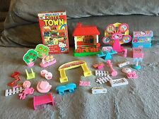 Hello Kitty Playset & Accessories Lot 'Kitty's Town' Sanrio