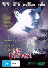 NO RETURN DVD - HORROR THRILLER _GHOST MOVIE