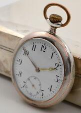 Taschenuhr 800 er Silber pocket watch silver swiss made