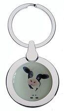 Mignon Dairy Vache Chrome Porte-Clé