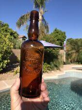 New ListingRare Antique 16oz. Amber Seattle Washington Whiskey Bottle