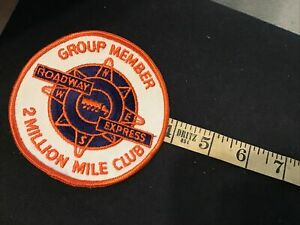 Roadway Express driver patch 2 mil mile Group Member