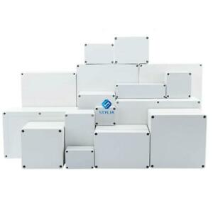 ABS Junction Waterproof Box Outdoor Cable Connection Enclosures Electrical Cases