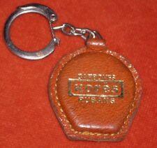 Porte-clé Keychain Carbones KORES ruban forme fer cheval chance cuir & OR