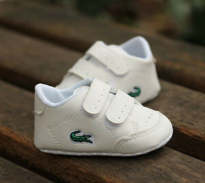 Newborn Baby Boy Girl Crib Shoes Faux Leather Infant Toddler Pre Walker Sneakers
