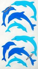 ~ Dolphin Diving Swimming Beach Ocean Fish Blue Hambly Studios Stickers ~