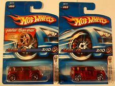 Hot Wheels 2005 First Editions X-Raycers SCION xB Lot Of 2 RED FTE & pr5 wheels