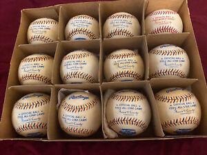 MLB baseballs. One dozen 1992 All-Star Game Offical Major League Baseballs