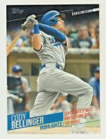 2018 Topps WALMART CODY BELLINGER HIGHLIGHTS #CB-20 Los Angeles Dodgers RETAIL